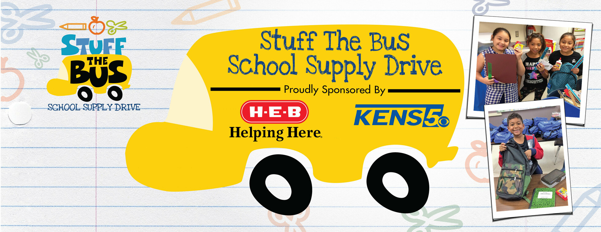 Communities In Schools Stuff The Bus School Supply Drive